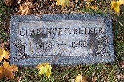 Clarence E Betker