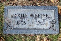Myrtle R Betker