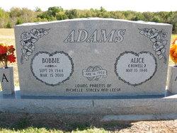 Bobbie Eli Adams