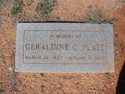 Geraldine Cathern Gerry <i>Hiatt</i> Platt