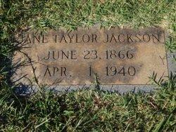 Jane <i>Taylor</i> Jackson