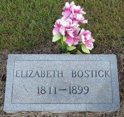 Elizabeth <i>Epperson</i> Bostick