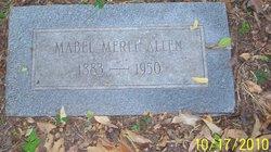 Mabel Merle Allen
