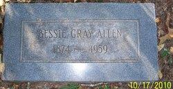 Bessie Gray Allen