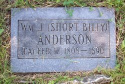 William James Short Billy Anderson