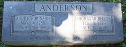Judith Anne <i>Robinson</i> Anderson