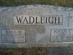 Marie M. <i>Scholovicz</i> Wadleigh