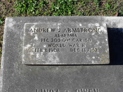 PFC Andrew J Armstrong