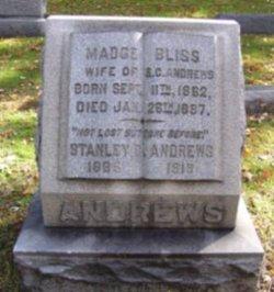 Madge E. <i>Bliss</i> Andrews