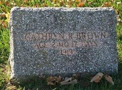 Cathryn R. Brown
