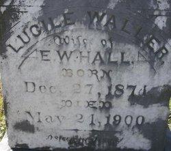 Lucile <i>Waller</i> Hall
