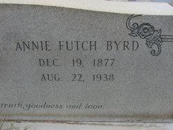 Annie <i>Futch</i> Byrd