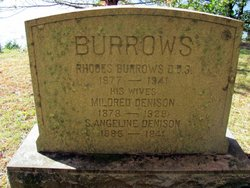 Mildred <i>Denison</i> Burrows