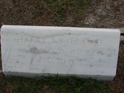 Harry Strothers Ballance