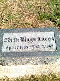 Edith <i>Biggs</i> Lucas