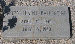 Betty Elaine Ballentine