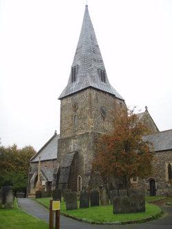 St Brannock Churchyard