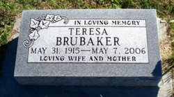 Teresa E. <i>Speicher</i> Brubaker