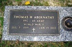 Thomas H Abernathy