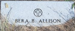 Bera <i>Butler</i> Allison