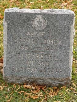 Annie D <i>Powell</i> Bartholomew