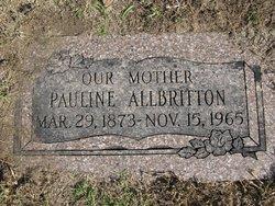 Pauline <i>Laney</i> Allbritton