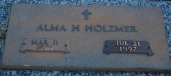 Alma H <i>Ruffing</i> Holzmer