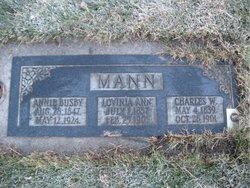 Lovina Ann <i>Smith</i> Mann
