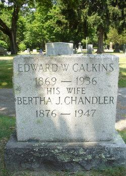 Bertha J. <i>Chandler</i> Calkins