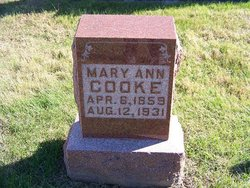 Mary Ann Cooke