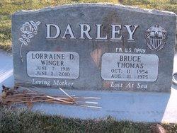 Lorraine Delores <i>Winger</i> Darley