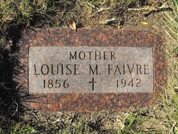 Louise <i>Rudity</i> Faivre