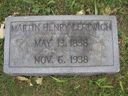 Martin Henry Leftwich