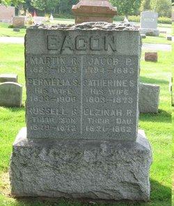 Elzinah R Bacon