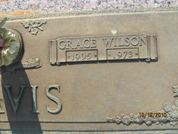 Grace <i>Wilson</i> Davis