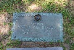 Hattie Mae <i>Church</i> Brown