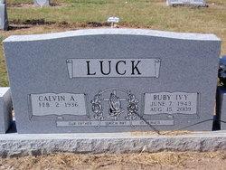 Ruby Jane <i>Ivy</i> Luck