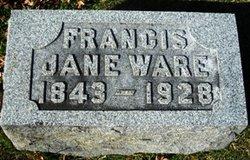 Francis Jane <i>Clark</i> Ware