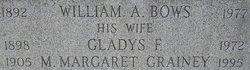 Gladys F. <i>Grainey</i> Bows