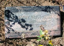 Dorothy <i>Wiest</i> Allen