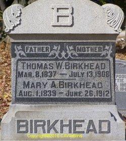 Mary Ann <i>Nelson</i> Birkhead