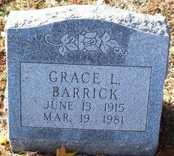 Grace L Barrick