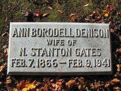 Ann Borodell <i>Denison</i> Gates