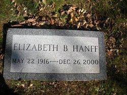Elizabeth (Betty) Hanff