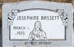 Josephine <i>Hoeffner</i> Bassett