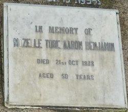 Mozelle Tobe Aaron Benjamin