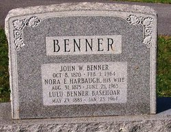 Lulu <i>Benner</i> Basehoar