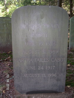 Arthur Tracy Cabot