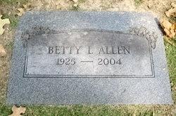 Betty L Allen