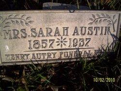 Sarah Ann Sally <i>Lyle</i> Austin